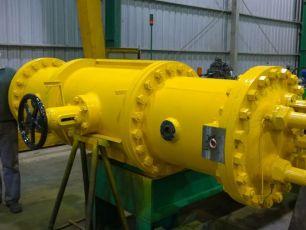 La empresa AES nos contrató la reparación de servos de la central hidroeléctrica de Ullum
